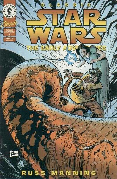 Classic Star Wars: The Early Adventures #8 comic books - cover scans photos Classic Star Wars: The Early Adventures #8 comic books - covers, picture gallery