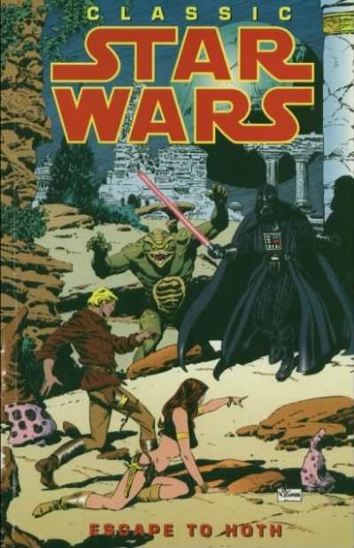 Classic Star Wars #1 comic books - cover scans photos Classic Star Wars #1 comic books - covers, picture gallery