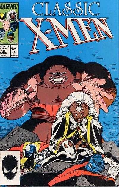 Classic X-Men #10 comic books - cover scans photos Classic X-Men #10 comic books - covers, picture gallery