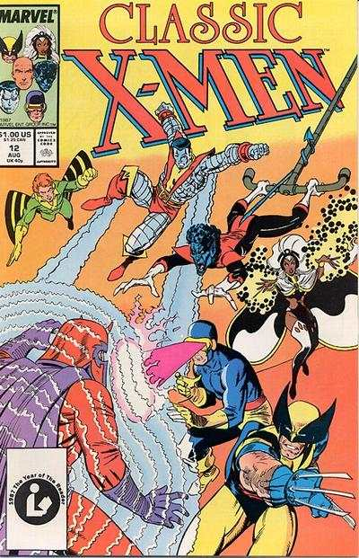 Classic X-Men #12 comic books - cover scans photos Classic X-Men #12 comic books - covers, picture gallery