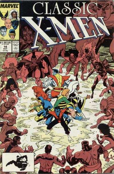 Classic X-Men #14 comic books - cover scans photos Classic X-Men #14 comic books - covers, picture gallery