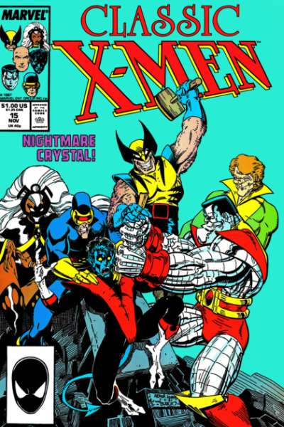 Classic X-Men #15 comic books - cover scans photos Classic X-Men #15 comic books - covers, picture gallery