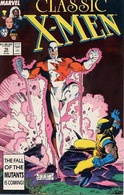 Classic X-Men #16 comic books - cover scans photos Classic X-Men #16 comic books - covers, picture gallery