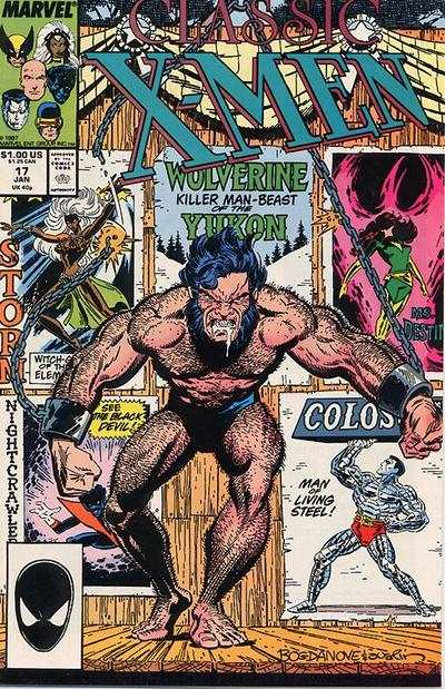 Classic X-Men #17 comic books - cover scans photos Classic X-Men #17 comic books - covers, picture gallery