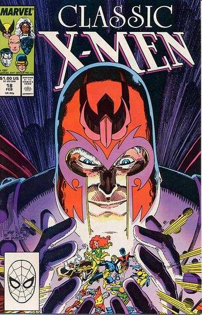 Classic X-Men #18 comic books - cover scans photos Classic X-Men #18 comic books - covers, picture gallery