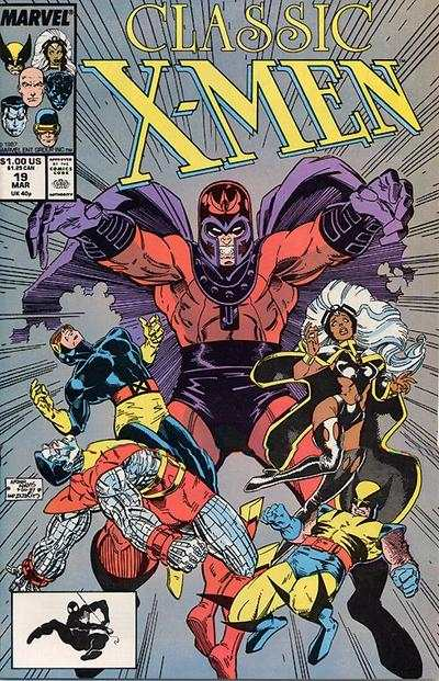 Classic X-Men #19 comic books - cover scans photos Classic X-Men #19 comic books - covers, picture gallery