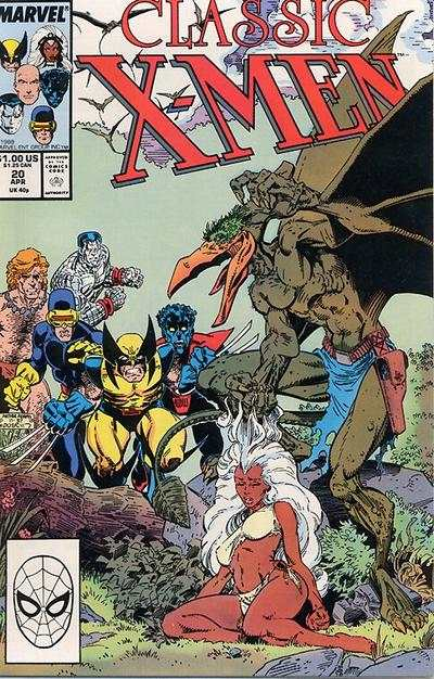 Classic X-Men #20 comic books - cover scans photos Classic X-Men #20 comic books - covers, picture gallery