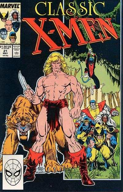 Classic X-Men #21 comic books - cover scans photos Classic X-Men #21 comic books - covers, picture gallery