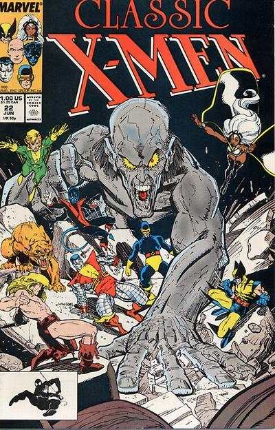 Classic X-Men #22 comic books - cover scans photos Classic X-Men #22 comic books - covers, picture gallery