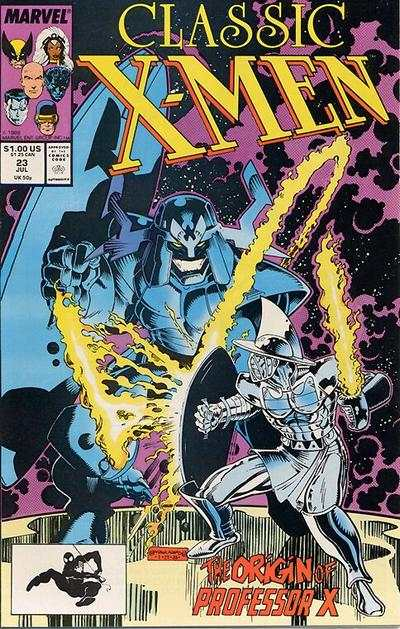 Classic X-Men #23 comic books - cover scans photos Classic X-Men #23 comic books - covers, picture gallery