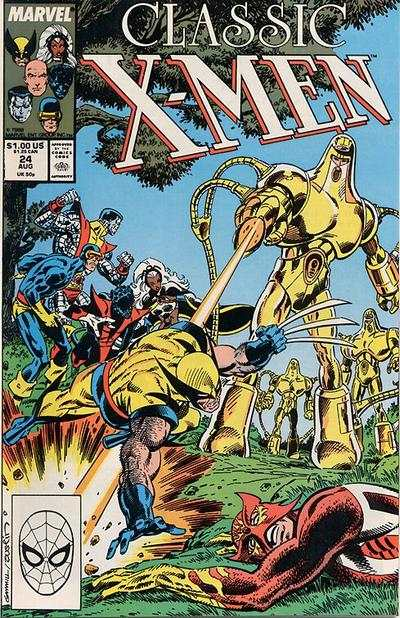 Classic X-Men #24 comic books - cover scans photos Classic X-Men #24 comic books - covers, picture gallery