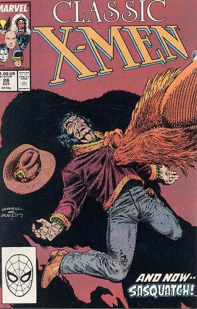 Classic X-Men #26 comic books - cover scans photos Classic X-Men #26 comic books - covers, picture gallery