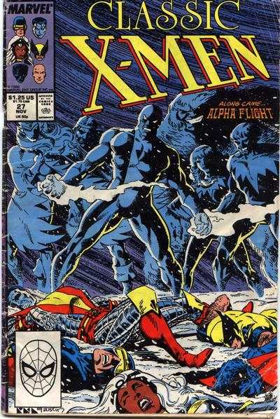 Classic X-Men #27 comic books - cover scans photos Classic X-Men #27 comic books - covers, picture gallery