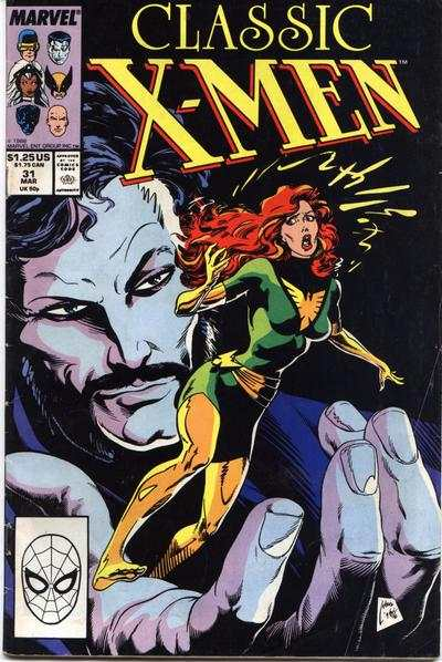 Classic X-Men #31 comic books - cover scans photos Classic X-Men #31 comic books - covers, picture gallery