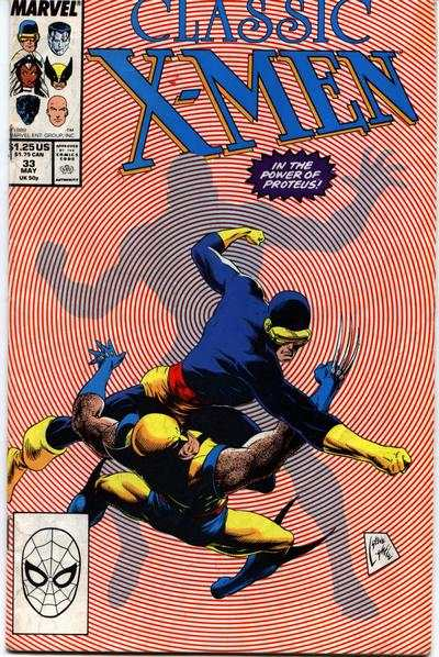 Classic X-Men #33 Comic Books - Covers, Scans, Photos  in Classic X-Men Comic Books - Covers, Scans, Gallery