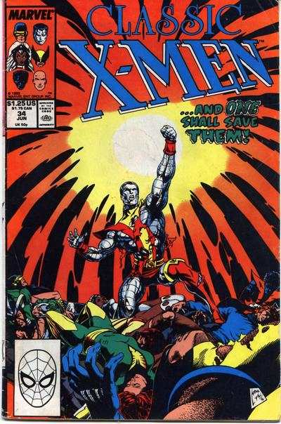 Classic X-Men #34 comic books - cover scans photos Classic X-Men #34 comic books - covers, picture gallery