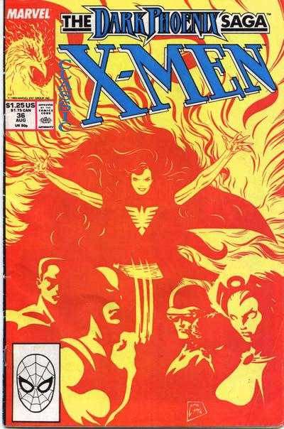 Classic X-Men #36 comic books for sale