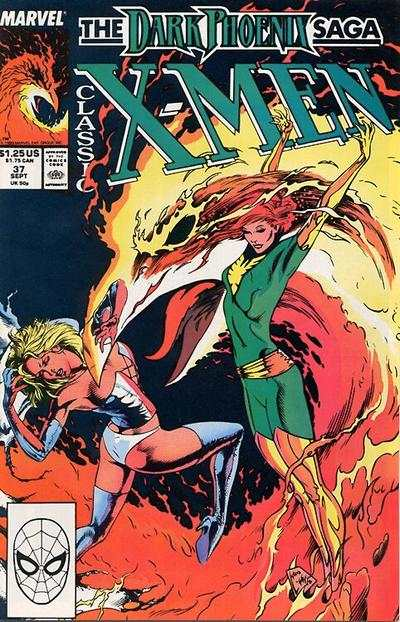 Classic X-Men #37 comic books - cover scans photos Classic X-Men #37 comic books - covers, picture gallery