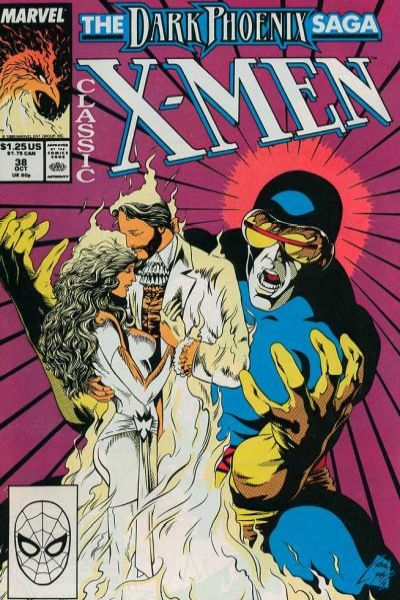Classic X-Men #38 comic books - cover scans photos Classic X-Men #38 comic books - covers, picture gallery