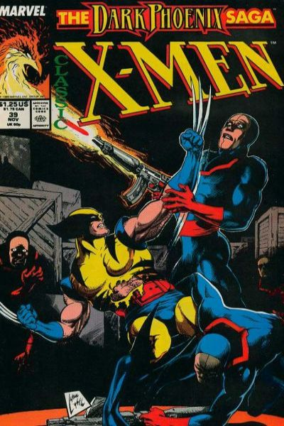 Classic X-Men #39 comic books - cover scans photos Classic X-Men #39 comic books - covers, picture gallery