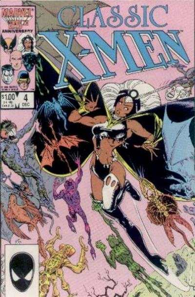 Classic X-Men #4 comic books - cover scans photos Classic X-Men #4 comic books - covers, picture gallery