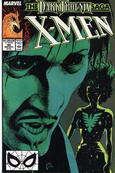 Classic X-Men #40 comic books - cover scans photos Classic X-Men #40 comic books - covers, picture gallery