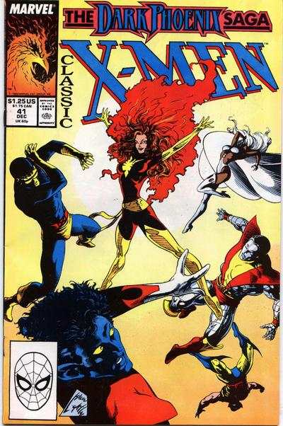 Classic X-Men #41 comic books - cover scans photos Classic X-Men #41 comic books - covers, picture gallery