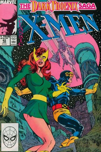 Classic X-Men #43 comic books - cover scans photos Classic X-Men #43 comic books - covers, picture gallery