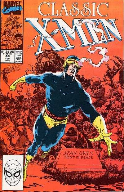 Classic X-Men #44 Comic Books - Covers, Scans, Photos  in Classic X-Men Comic Books - Covers, Scans, Gallery