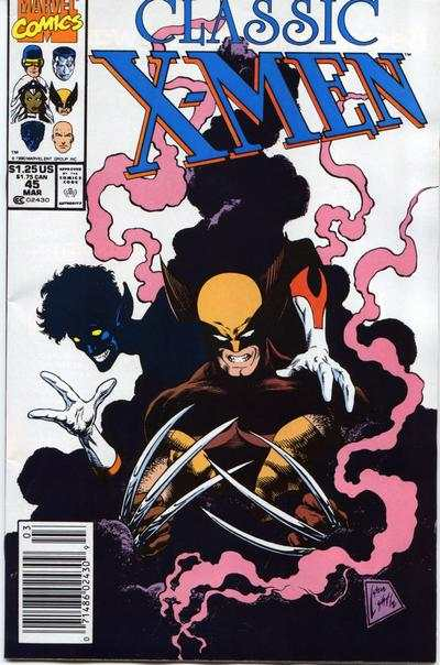 Classic X-Men #45 comic books - cover scans photos Classic X-Men #45 comic books - covers, picture gallery