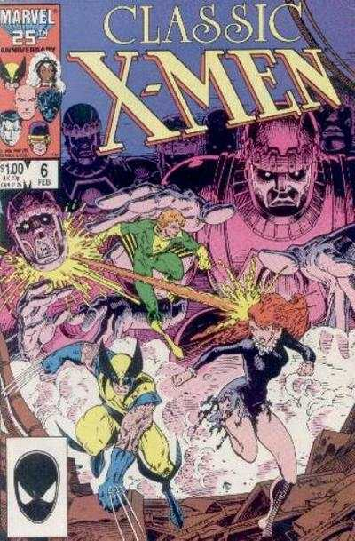 Classic X-Men #6 comic books - cover scans photos Classic X-Men #6 comic books - covers, picture gallery