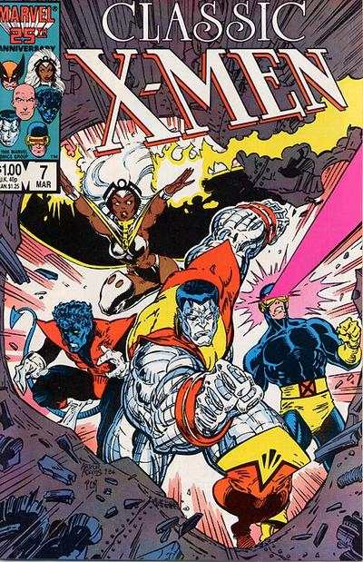 Classic X-Men #7 comic books - cover scans photos Classic X-Men #7 comic books - covers, picture gallery