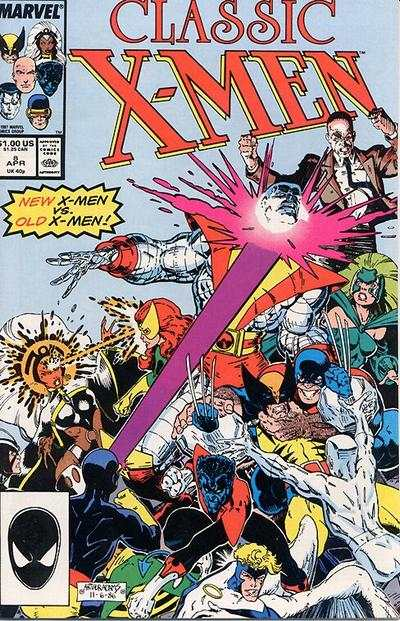 Classic X-Men #8 comic books - cover scans photos Classic X-Men #8 comic books - covers, picture gallery