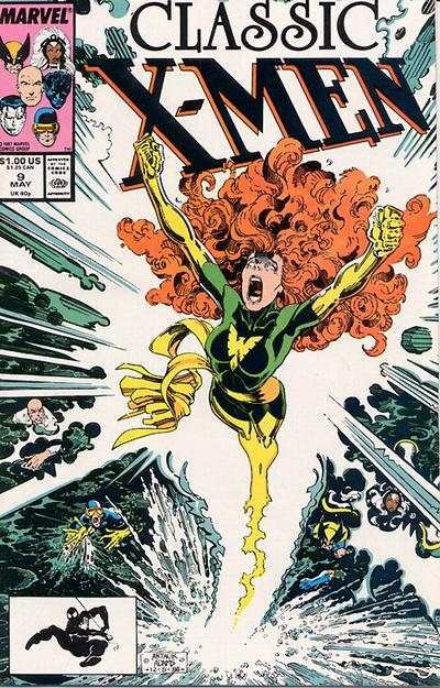 Classic X-Men #9 comic books - cover scans photos Classic X-Men #9 comic books - covers, picture gallery