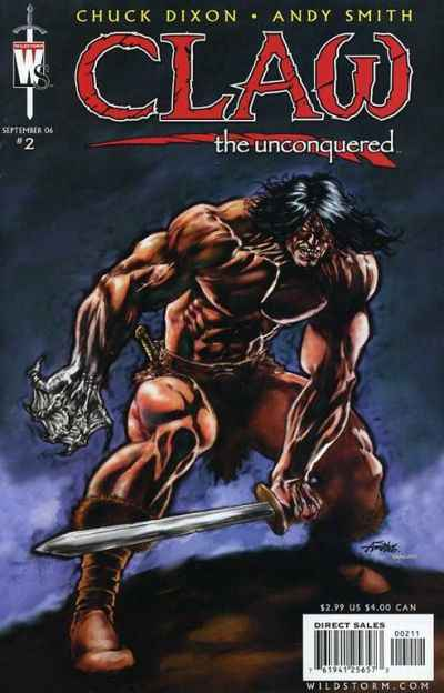 Claw the Unconquered #2 Comic Books - Covers, Scans, Photos  in Claw the Unconquered Comic Books - Covers, Scans, Gallery
