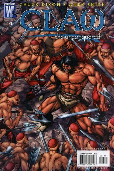 Claw the Unconquered #4 Comic Books - Covers, Scans, Photos  in Claw the Unconquered Comic Books - Covers, Scans, Gallery