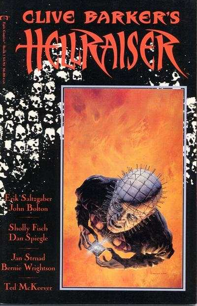 Clive Barker's Hellraiser Comic Books. Clive Barker's Hellraiser Comics.