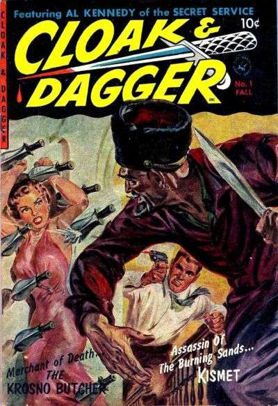 Cloak & Dagger #1 comic books - cover scans photos Cloak & Dagger #1 comic books - covers, picture gallery