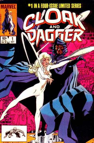 Cloak and Dagger #1 comic books - cover scans photos Cloak and Dagger #1 comic books - covers, picture gallery