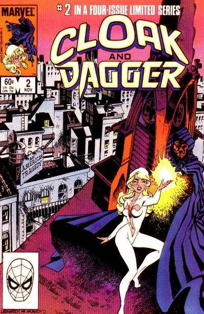 Cloak and Dagger #2 comic books - cover scans photos Cloak and Dagger #2 comic books - covers, picture gallery