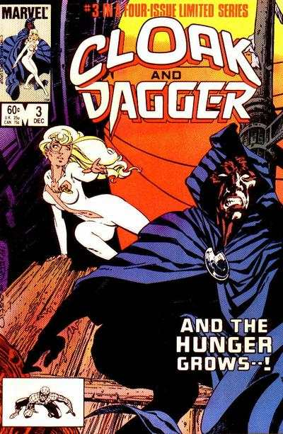 Cloak and Dagger #3 comic books - cover scans photos Cloak and Dagger #3 comic books - covers, picture gallery
