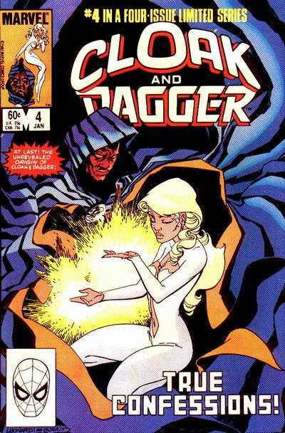 Cloak and Dagger #4 comic books - cover scans photos Cloak and Dagger #4 comic books - covers, picture gallery