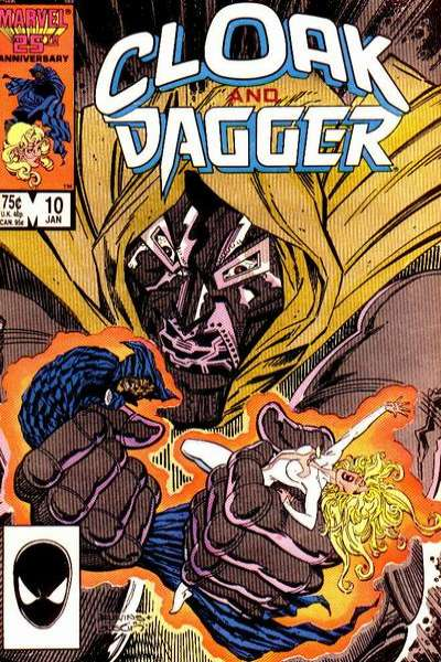 Cloak and Dagger #10 Comic Books - Covers, Scans, Photos  in Cloak and Dagger Comic Books - Covers, Scans, Gallery