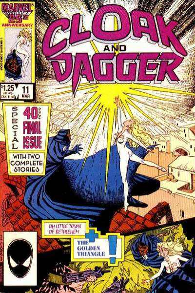 Cloak and Dagger #11 Comic Books - Covers, Scans, Photos  in Cloak and Dagger Comic Books - Covers, Scans, Gallery