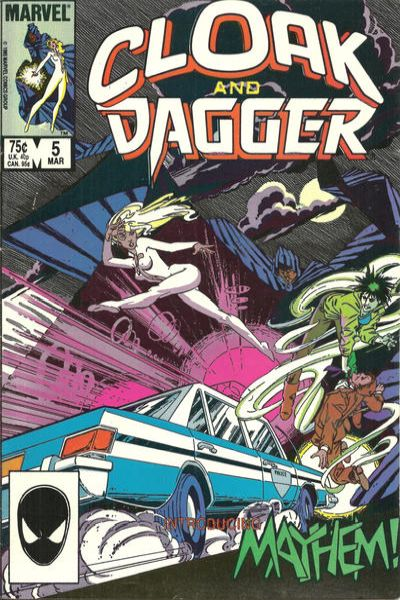 Cloak and Dagger #5 comic books for sale
