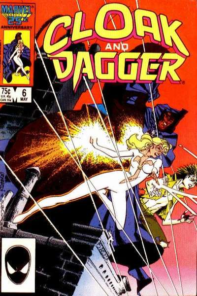Cloak and Dagger #6 Comic Books - Covers, Scans, Photos  in Cloak and Dagger Comic Books - Covers, Scans, Gallery