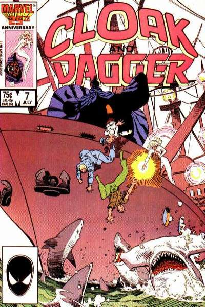 Cloak and Dagger #7 comic books for sale