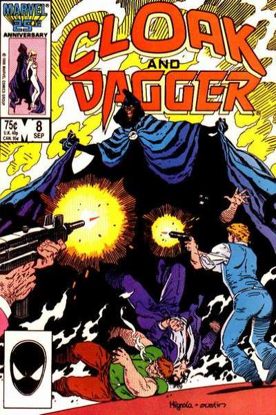 Cloak and Dagger #8 Comic Books - Covers, Scans, Photos  in Cloak and Dagger Comic Books - Covers, Scans, Gallery