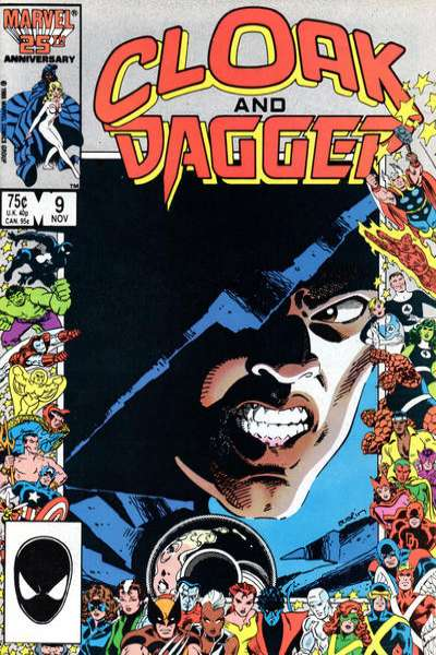 Cloak and Dagger #9 Comic Books - Covers, Scans, Photos  in Cloak and Dagger Comic Books - Covers, Scans, Gallery