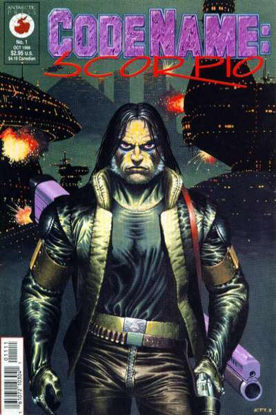 Code Name: Scorpio #1 comic books - cover scans photos Code Name: Scorpio #1 comic books - covers, picture gallery